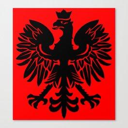 Polish Eagle Herald Canvas Print