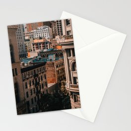San Francisco architecture Stationery Cards
