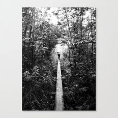 Tread Carefully Canvas Print