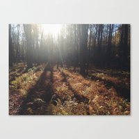 hiking Canvas Prints featuring Hiking by LISACYO