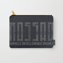 Mossad - Israeli Intelligence Agency Carry-All Pouch