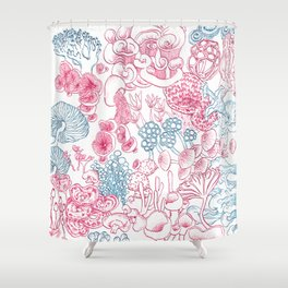 Mycology 1 Shower Curtain