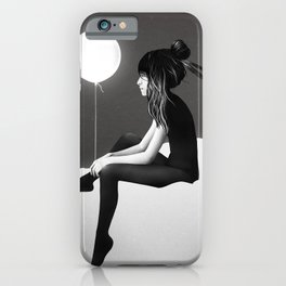 No Such Thing As Nothing (By Night) iPhone Case