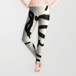 Abstract line art 19 Leggings