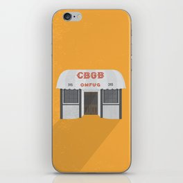 Punk Rock Saved My Life // CBGB omfug // New York iPhone Skin