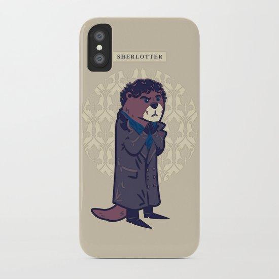 Sherlotter iPhone Case