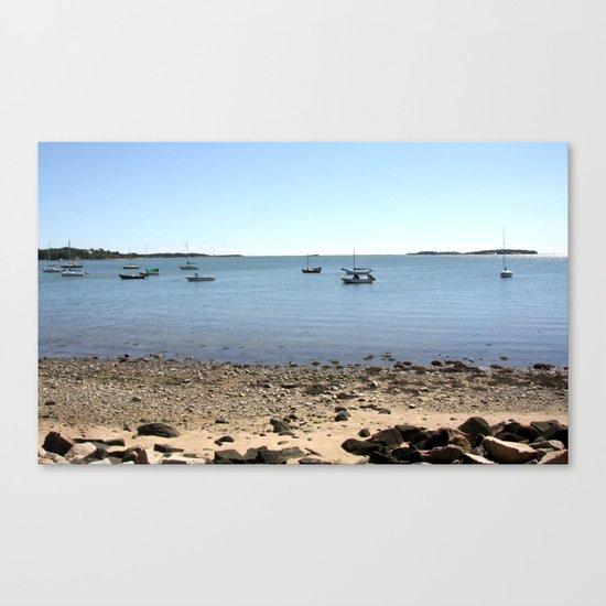 Sailboats In Chatham, Cape Cod Canvas Print