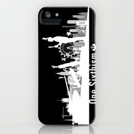 One Sixth Ism (White World) iPhone Case