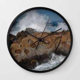 Big Sur's Point Lobos Wall Clock