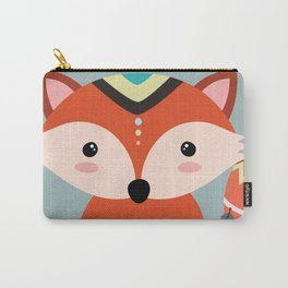 tribal fox boy Carry-All Pouch