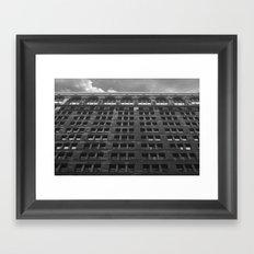 vertical sky Framed Art Print