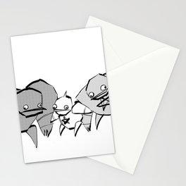 minima - slowbot 006 (clock) Stationery Cards