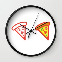 Slice of Pizza Wall Clock