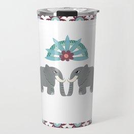 Elephant Honeymoon Travel Mug