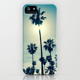 Chillin' palms iPhone Case