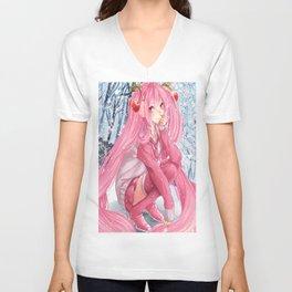 Sakura Hatsune Miku Unisex V-Neck