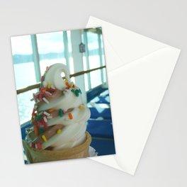 Ice Cream Cone Stationery Cards