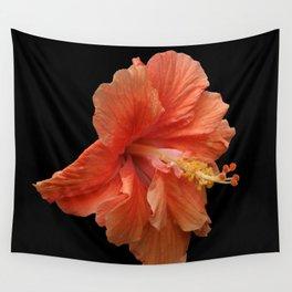 Double Orange Hibiscus DPG160419 Wall Tapestry