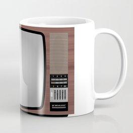 Retro Vintage Old Television Grandcolor 777 Jugoslavija 1970s 1980s Neven Zubak Coffee Mug