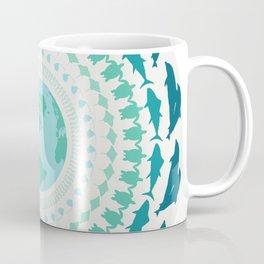 Ocean Animal Mandala Coffee Mug