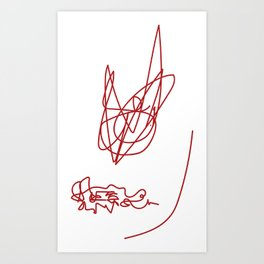 Instincts Art Print