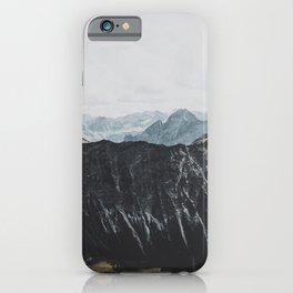 interstellar - landscape photography iPhone Case
