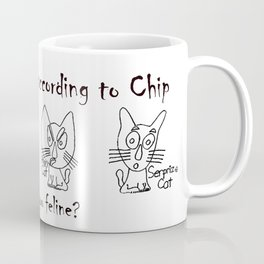 Feline Emotions Coffee Mug