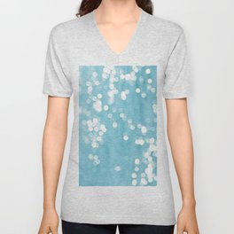 Abstract sea Unisex V-Neck