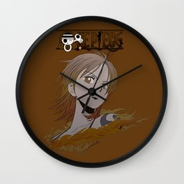 Nami Gold Sexy - OnePiece Wall Clock