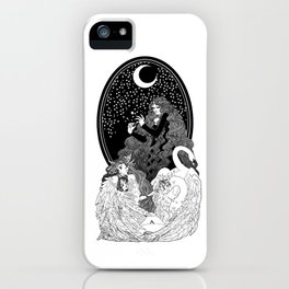 Aoife and the Children of Lír iPhone Case