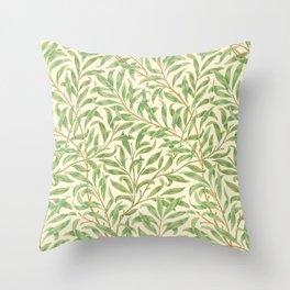 "William Morris ""Willow Bough"" Throw Pillow"