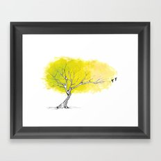 The Hummingbird Tree Framed Art Print