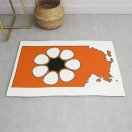 Northern Territory Australia Map with NT Flag Rug