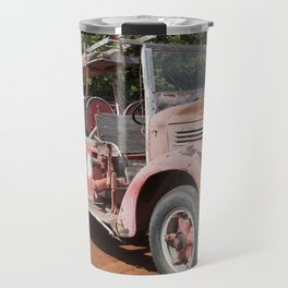 Old Fire Truck Travel Mug