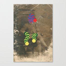Mr Slinky Canvas Print