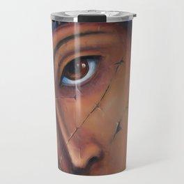Mother Of God by OLena Art Travel Mug