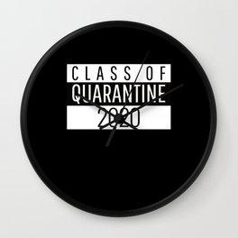 Class of Quarantine 2020 Wall Clock