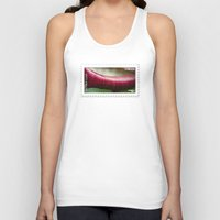 lip Tank Tops featuring The Lip by fotoGN