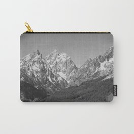 Ansel Adams - Grass Valley and Grand Tetons Carry-All Pouch