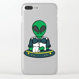 Cute and unique tee design. Makes a nice and creative gift to your friends and family.  Clear iPhone Case