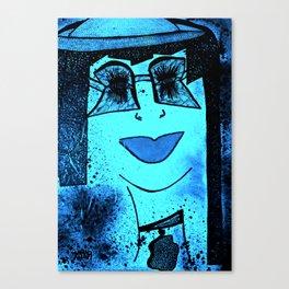 Miss Geek tetkaART Canvas Print