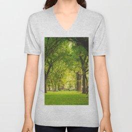 Central Park Summer Unisex V-Neck