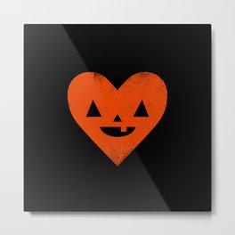 I Heart Halloween Metal Print