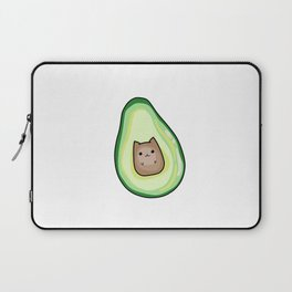AvoCato Avocado Cat Print Laptop Sleeve