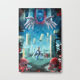 Battle Metal Print