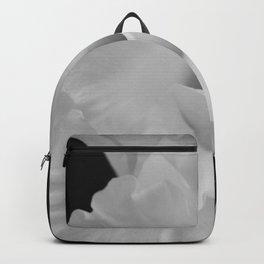 Black and White Gladiolus Backpack
