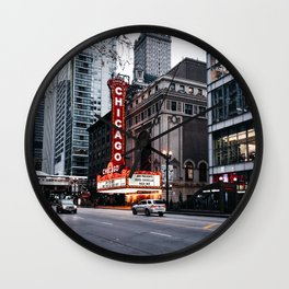Chicago Theater Wall Clock