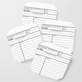 Cornell Notes Coaster