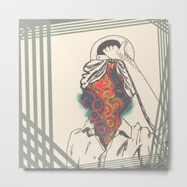 Just an Illusion Metal Print
