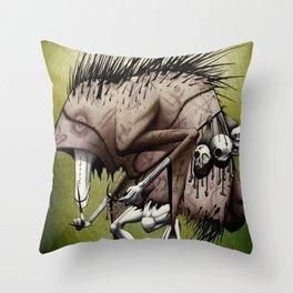 Bogeyman Throw Pillow